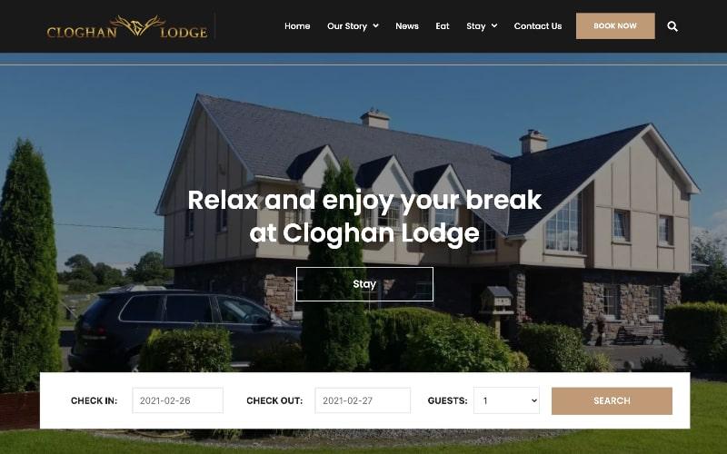Cloghan Lodge homepage