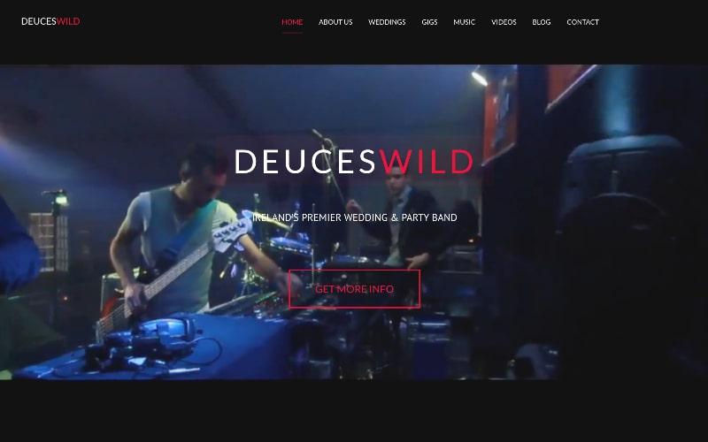Deuces Wild homepage
