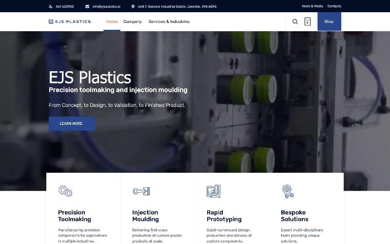 EJS Plastics homepage