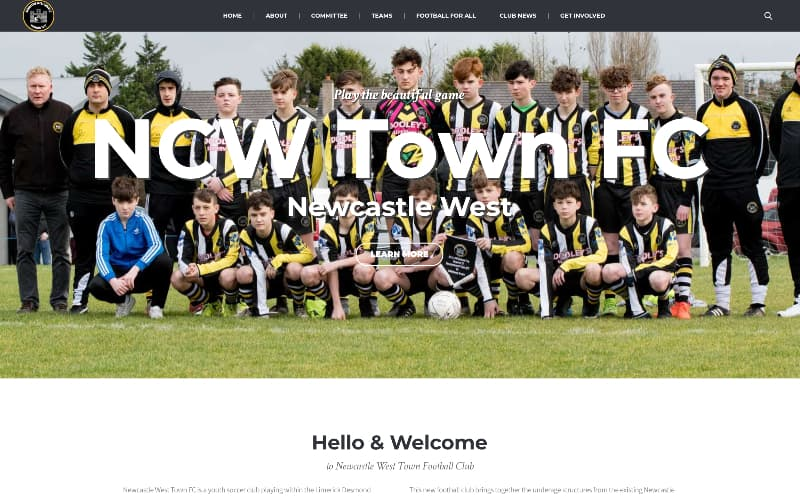 NCW Town FC hompage