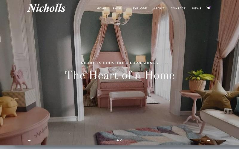 Nicholls homepage