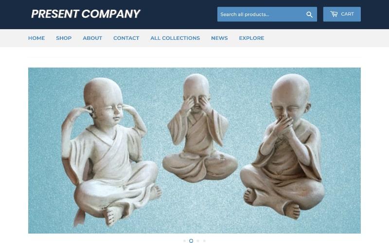 Present Company homepage