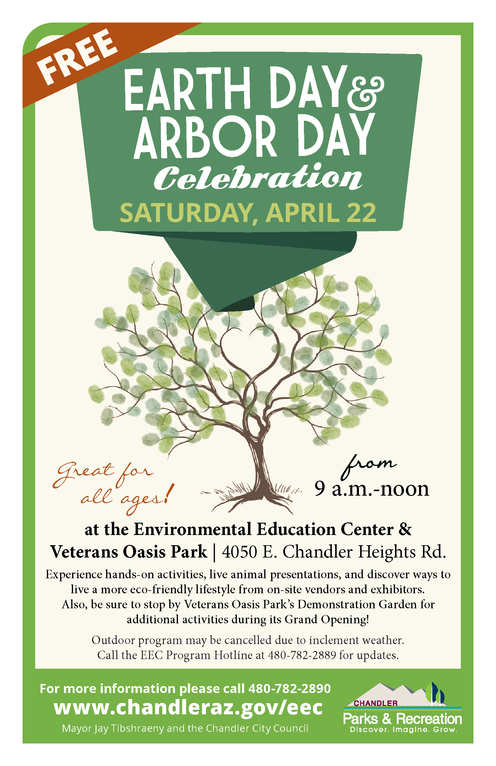 Earth Day And Arbor Day Celebration