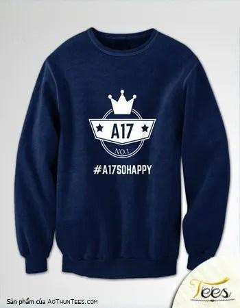 Áo sweater nỉ lớp 12A17 - THPT Hùng Vương - ao-sweater