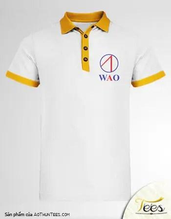 Áo thun đồng phục của Nhà không dây WAO - ao-polo-ca-sau