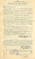 Arthur B. Homer, Navy Pension