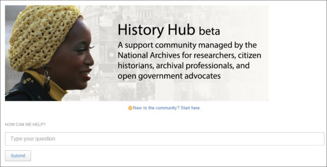 History Hub screenshot