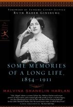 Malvina Shanklin Harlan, Some Memories of a Long Life, 1854-1911.