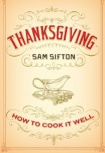 Sam Sifton, Thanksgiving