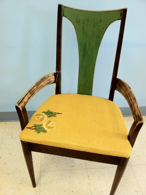 Photo Furniture Yellow Chair