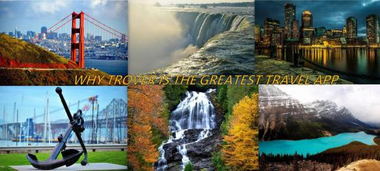 TROVER TRAVEL COLLAGE