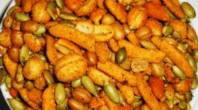 Amazon trail mix or walmart cajun trail mix has a lot of trail mix calories in them so they aren't the greatest option for creating your own trail mix bar. But they are a wonderful way to spice up your campfire food ideas when heading out into the backcountry. I am not a fan of the cajun trail mix as much as i want to be so I don't eat alone. I tend to mix it in with other trail mix flavor profiles to give it a sprinkle of attitude.