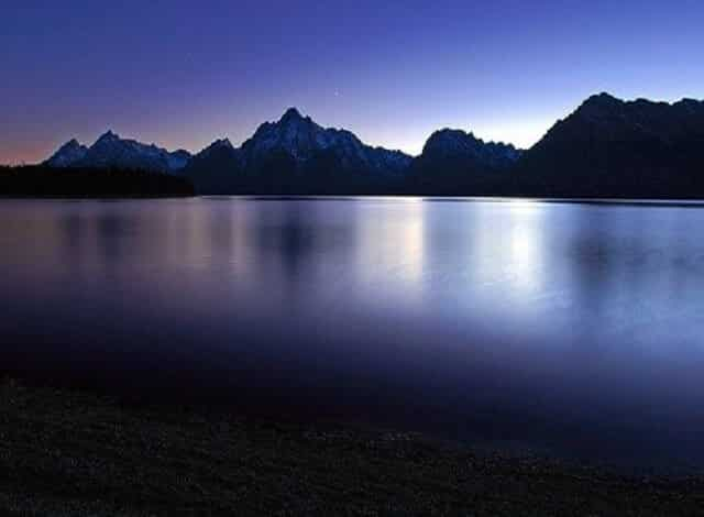 Jackson Lake in Teton National Park is home to Signal Mountain Lodge. Which offers breath taking views of Grand Teton, Middle Teton & Little Teton from all angles of the property. One of the most beautiful places in America. Home to Jackson Hole, and visited by millions every year.