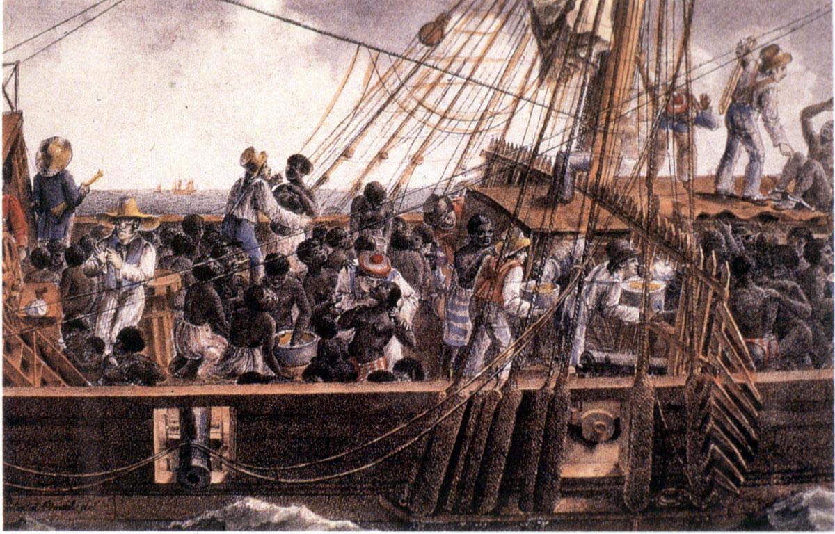 The Middle Passage  Atlantic Slave Trade  AoxoA