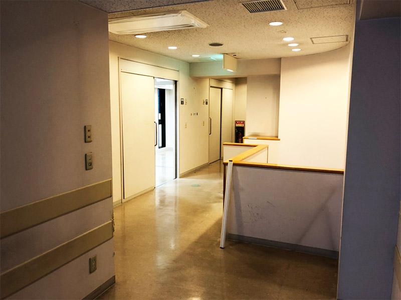 病院の内装解体-施工前4