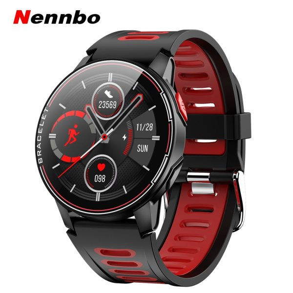 2020 New L6 Smart Watch IP68 Waterproof Sport Men Women Bluetooth Smartwatch Fitness Tracker Heart Rate Monitor For Android IOS 1