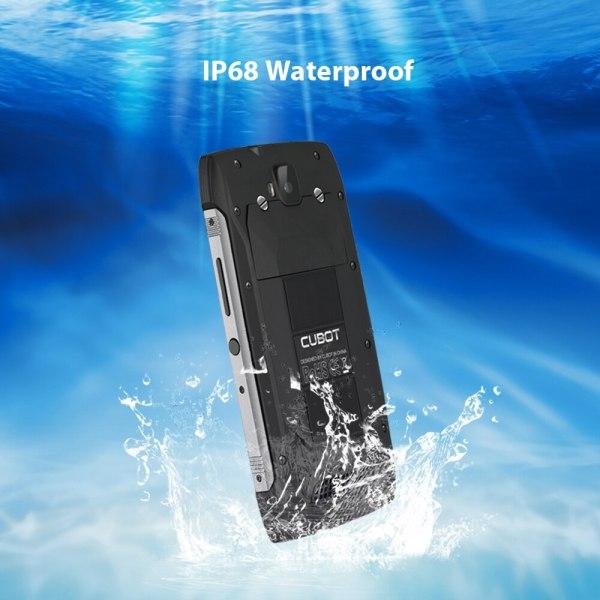 Cubot KingKong CS אנדרואיד 10 IP68 Waterproof Smartphone 5 אינץ 4400mAh פנים מזהה Dual SIM כרטיס טלפון מוקשח טלפון מלך קונג CS 4