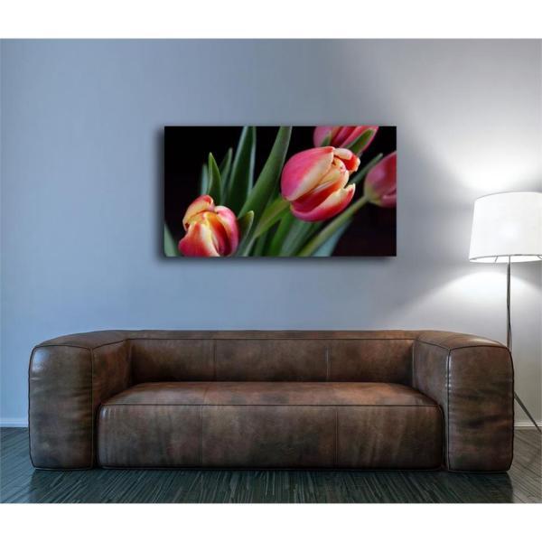 Pink Tulip Painting 1