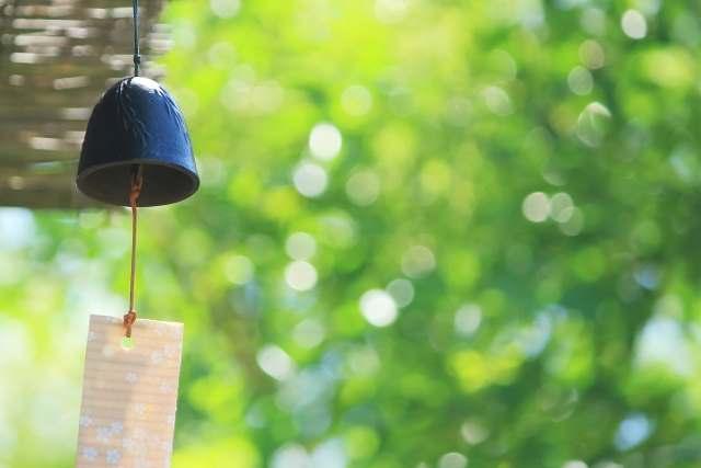 風鈴にはどんな効果があるの?癒し効果や体感温度まで下げる