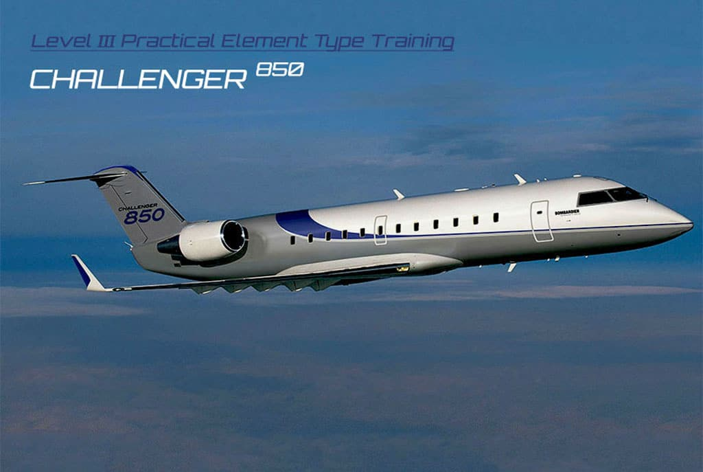 Bombardier Challenger 850 Practical