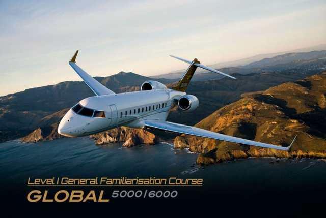 Bombardier Global Series General Familiarisation Type Training at AP-Malta