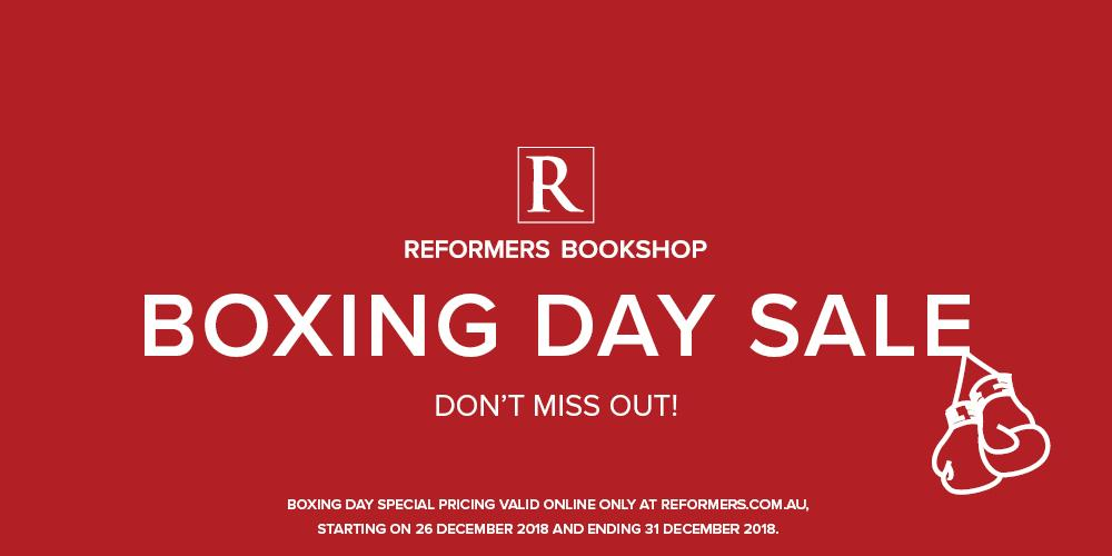 Reformers Bookshop Boxing Day Sale