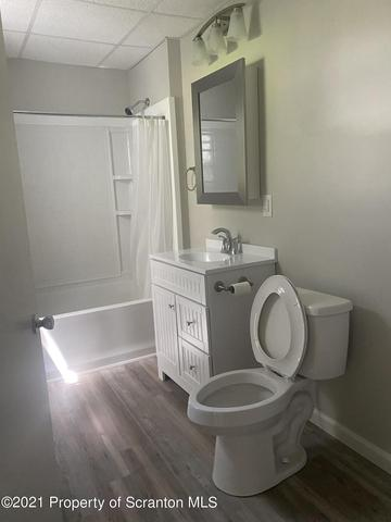 Bathroom featured at 140 Palen St, Mehoopany, PA 18629