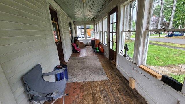 Porch featured at 14 Belmont St, Milo, ME 04463