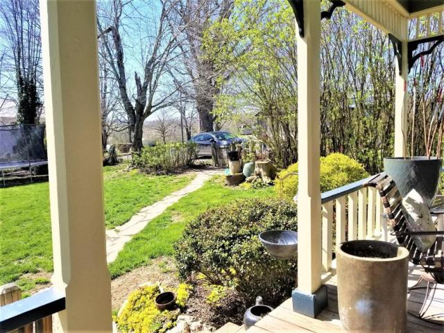 Porch yard featured at 125 Fort Springs Turnpike Rd, Sinks Grove, WV 24976