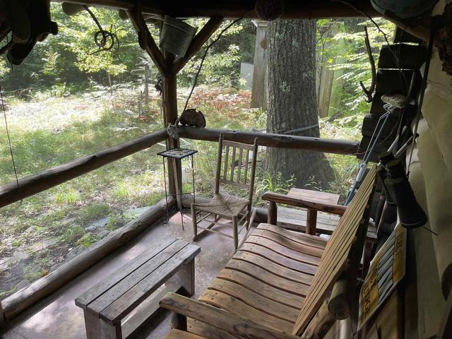 Porch featured at Bird Brk, Lake Luzerne, NY 12846