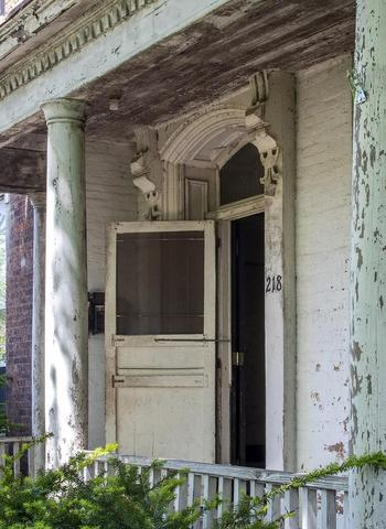 Porch featured at 218 E Main St, Wabash, IN 46992