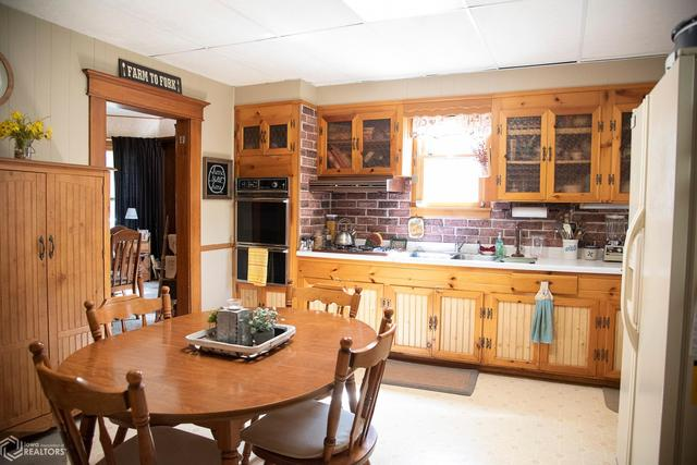 Dining room featured at 530 Crawford St, Warsaw, IL 62379