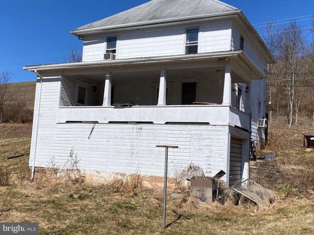 Porch yard featured at 1844 Schwaben Creek Rd, Rebuck, PA 17867