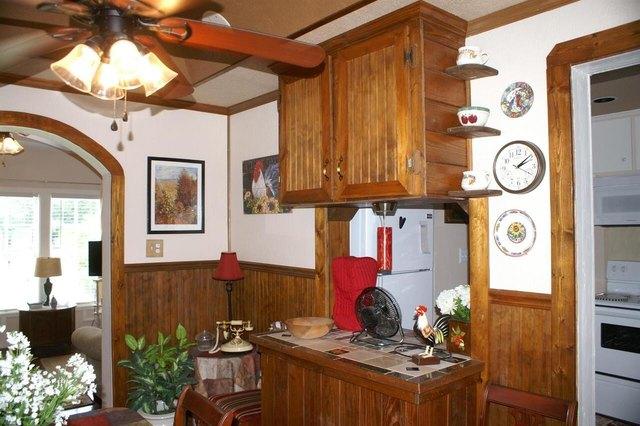 Kitchen featured at 220 Hill Terrace St, Crawfordville, GA 30631