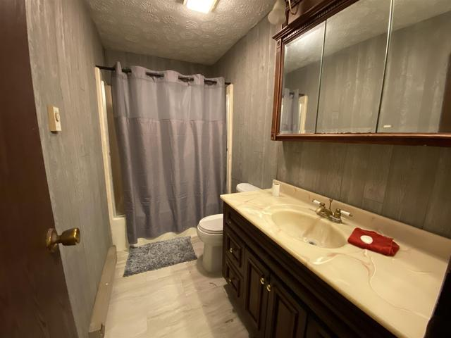 Bathroom featured at 3609 River Bluff Rd, Bedford, IN 47421