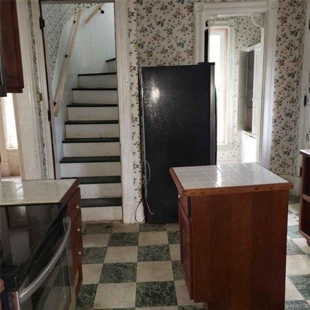 Laundry room featured at 207 Main St, Theresa, NY 13691