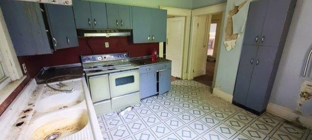Kitchen featured at 862 Stokes St, Danville, VA 24541
