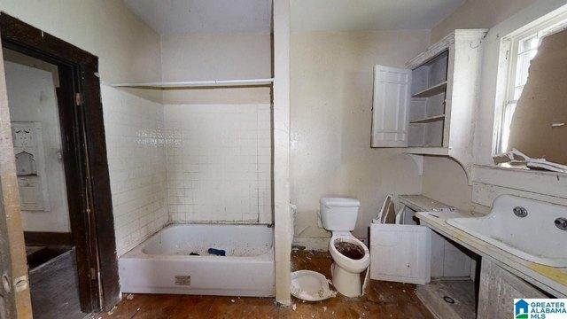 Bathroom featured at 1523 Berkley Ave, Bessemer, AL 35020
