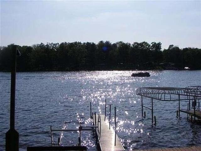 Water front featured at 4246 Gilding Rd, Beaverton, MI 48612