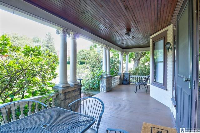 Porch featured at 98 Forest Ave, Jamestown, NY 14701