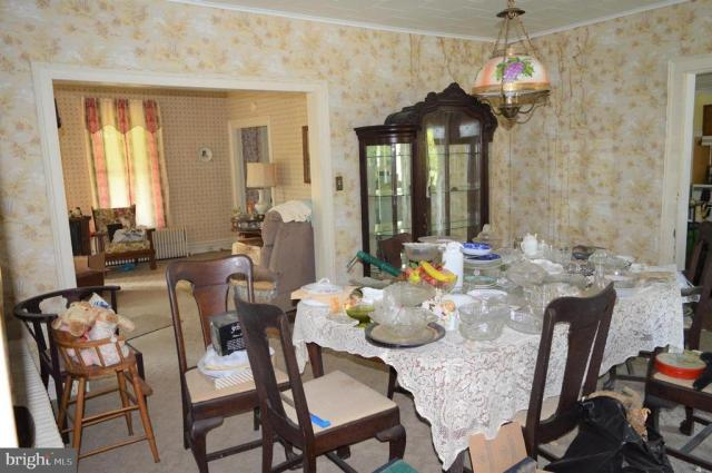 Dining room featured at 7 W Main St, Crisfield, MD 21817