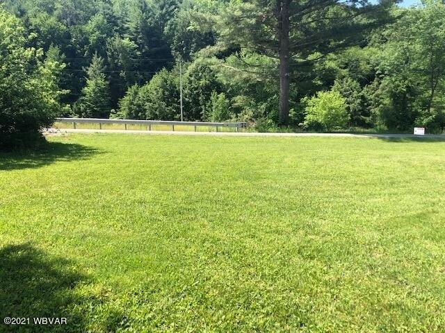 Yard featured at 2325 Slacks Run Rd, Trout Run, PA 17771