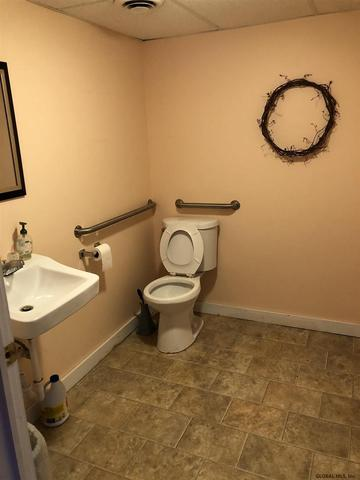Bathroom featured at 35 E Main St, Granville, NY 12832