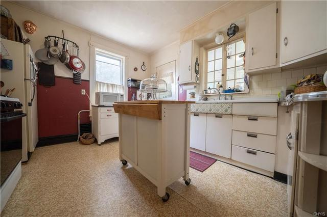 Kitchen featured at 12 Rundell St, Dolgeville, NY 13329