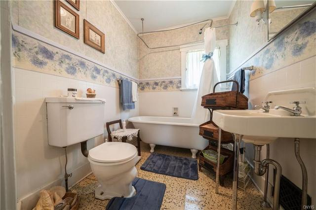 Bathroom featured at 12 Rundell St, Dolgeville, NY 13329