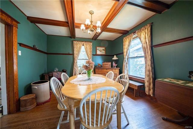 Dining room featured at 12 Rundell St, Dolgeville, NY 13329