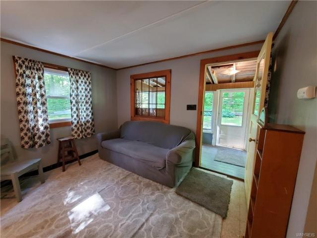 Living room featured at 50 Morningside Dr, Arcade, NY 14009