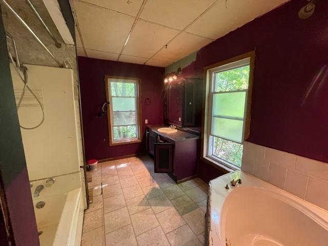 Bathroom featured at 99 S Pickering St, Brookville, PA 15825