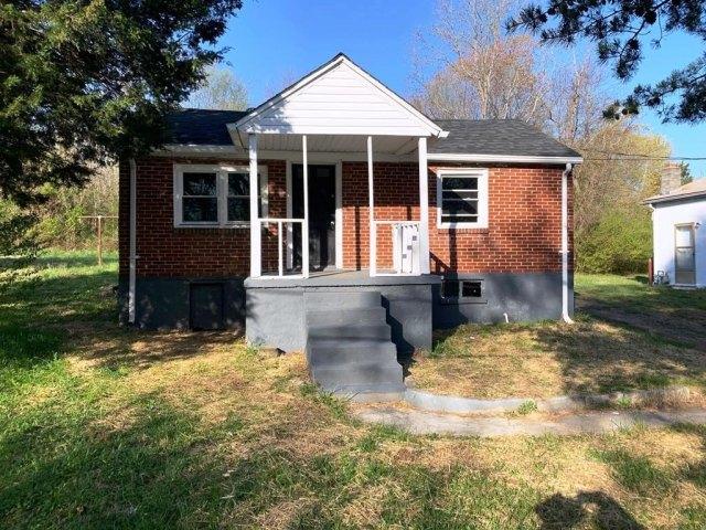 Porch yard featured at 314 Barrett St, Danville, VA 24541