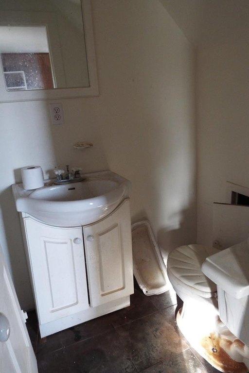 Bathroom featured at 10008 Atlantic Rd, Atlantic, VA 23303